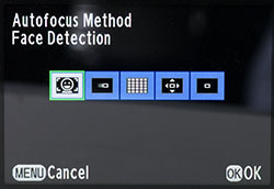 autofocussettings